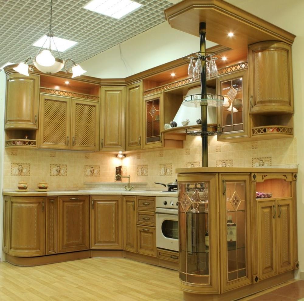Классические кухни-Кухня из массива «Модель 127»-фото5