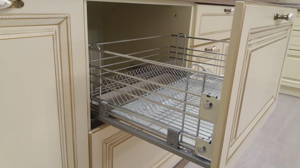 Белый кухонный гарнитур-Кухня МДФ в ПВХ «Модель 69»-фото6
