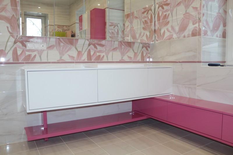 Мебель для ванной комнаты-Мебель для ванной «Модель 84»-фото1