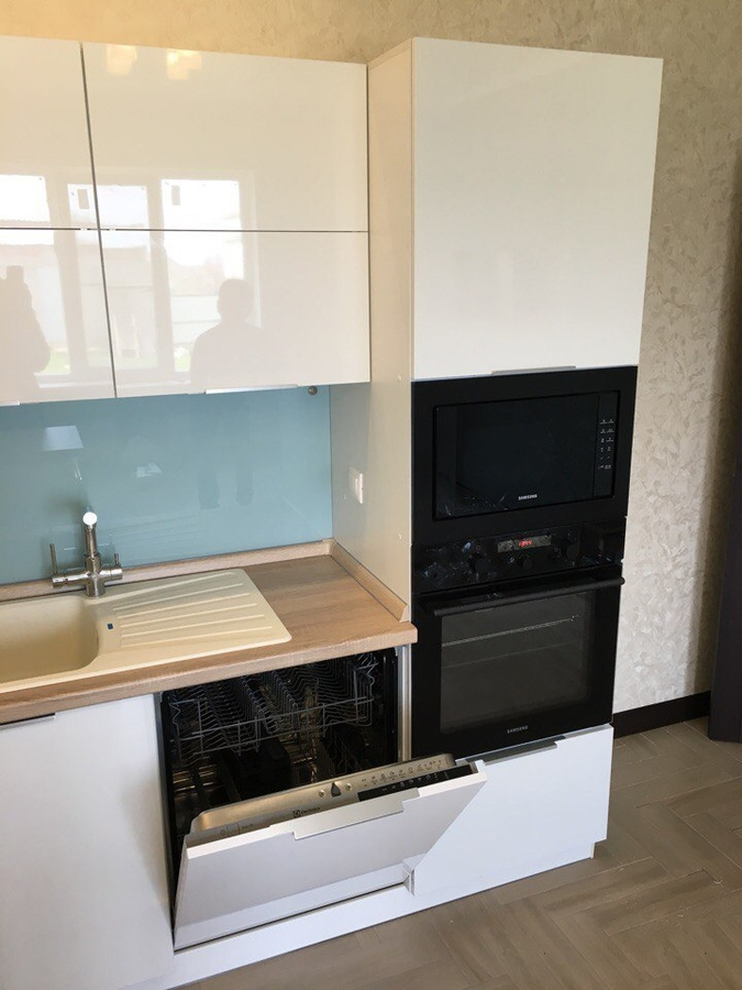 Акриловые кухни-Кухня из акрила «Модель 470»-фото6