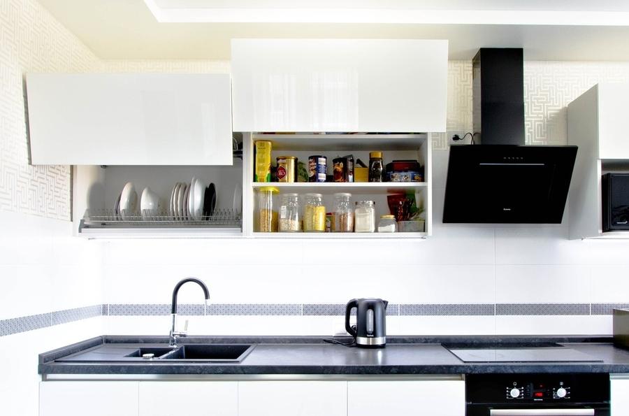 Акриловые кухни-Кухня из акрила «Модель 405»-фото3