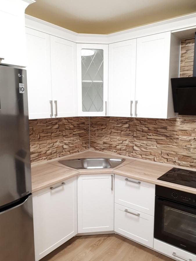Белый кухонный гарнитур-Кухня «Модель 494»-фото3