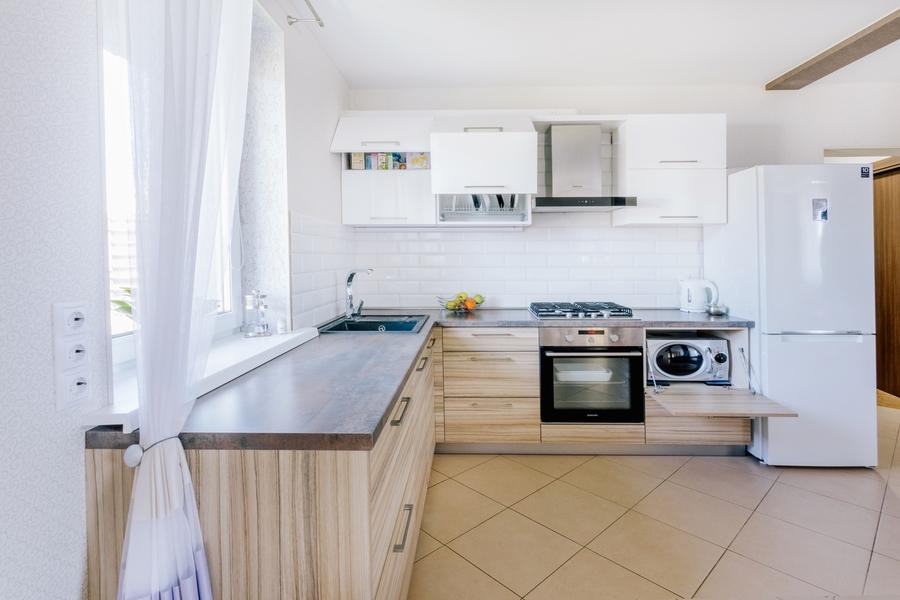 Акриловые кухни-Кухня из акрила «Модель 413»-фото2