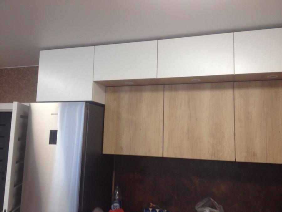 Белый кухонный гарнитур-Кухня из ЛДСП «Модель 176»-фото3