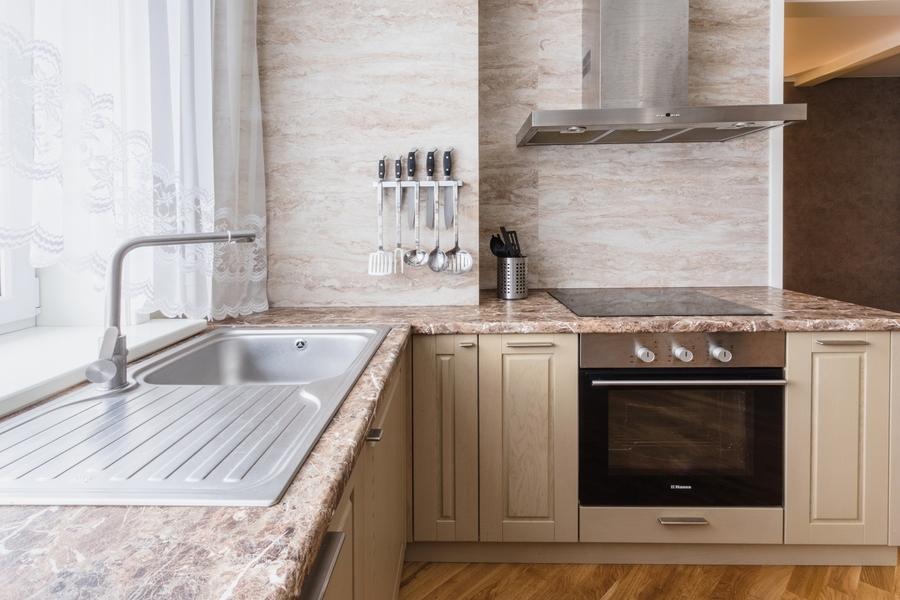 Классические кухни-Кухня из массива дуба «Модель 403»-фото4
