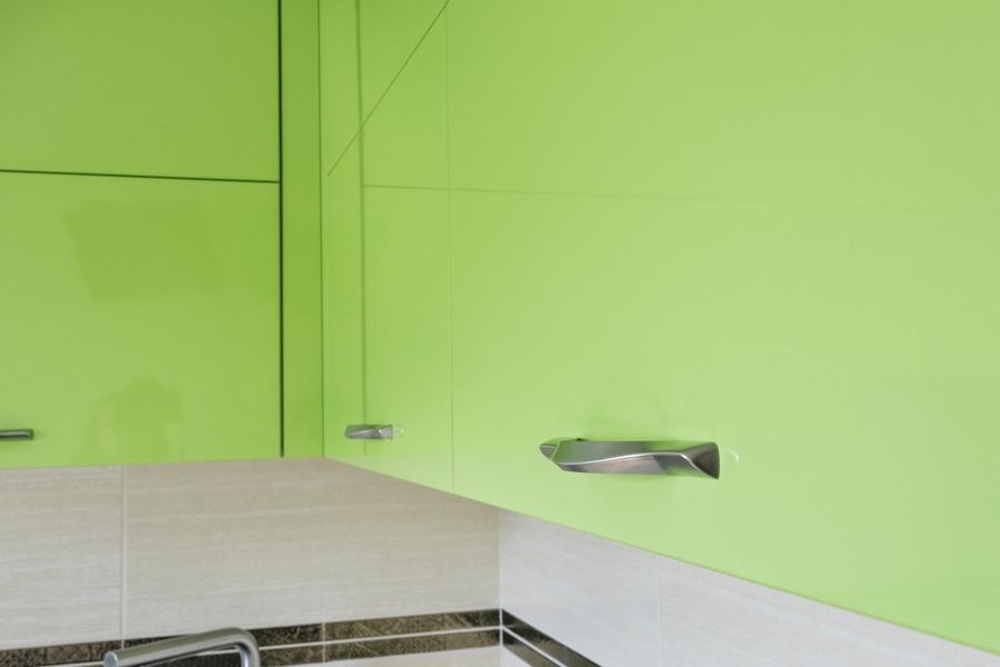 Глянцевые кухни-Кухня из ЛДСП «Модель 406»-фото4