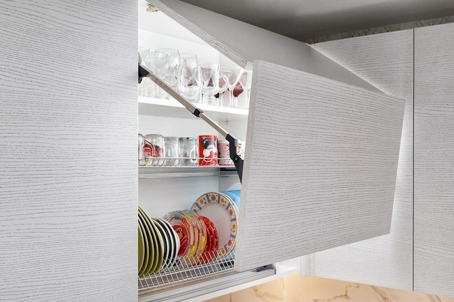 Белый кухонный гарнитур-Кухня из ЛДСП «Модель 583»-фото5