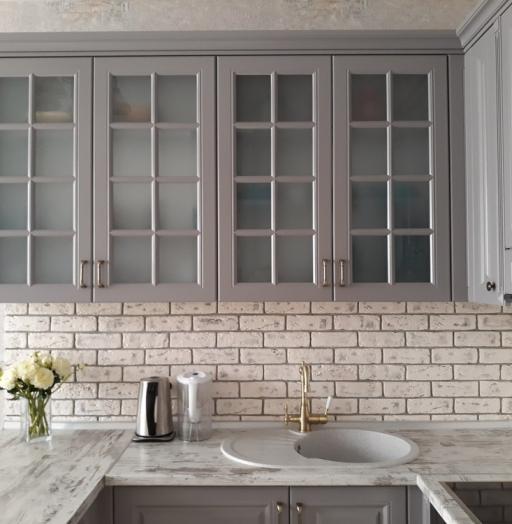 -Кухня МДФ в эмали «Модель 281»-фото16