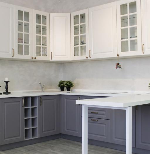 -Кухня МДФ в ПВХ «Модель 282»-фото14