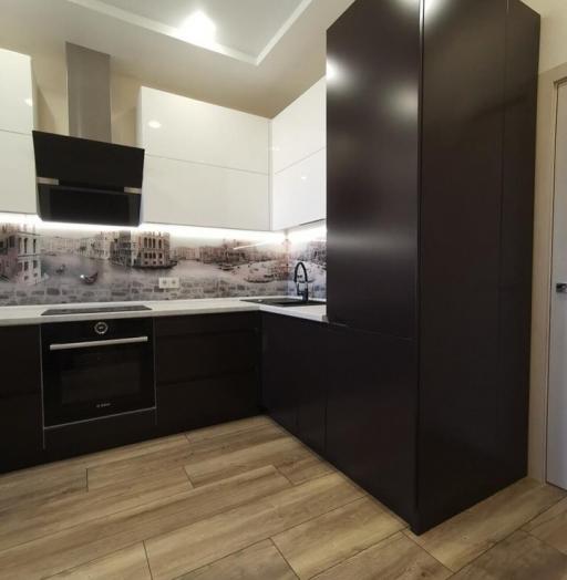 -Кухня МДФ в пленке ПВХ «Модель 93»-фото2
