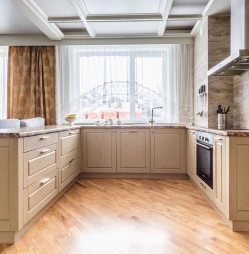 Классические кухни-Кухня из массива дуба «Модель 403»-фото6