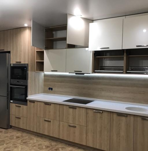 -Кухня МДФ в ПВХ «Модель 67»-фото27