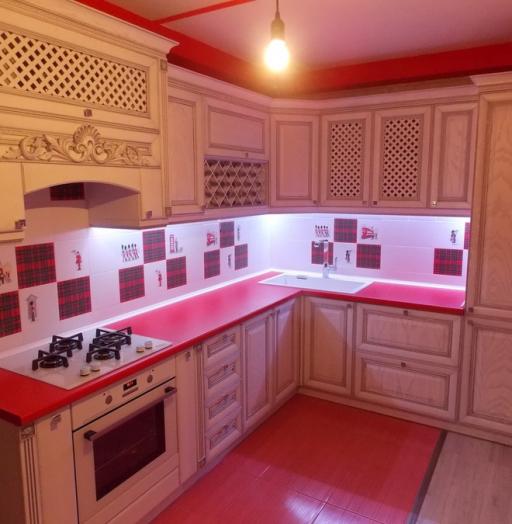 -Кухня из шпона «Модель 13»-фото6