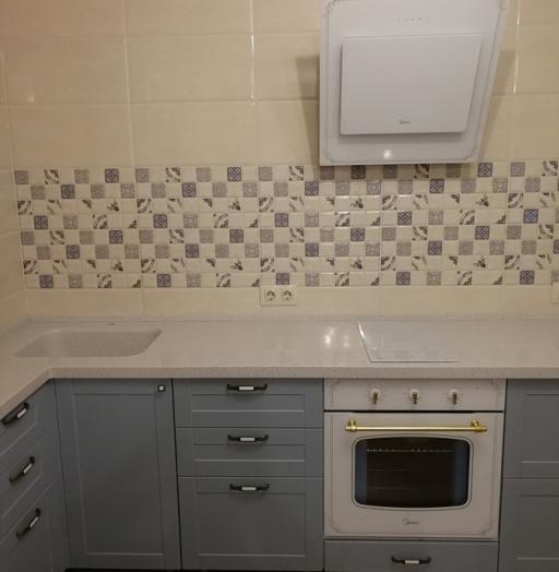 -Кухня МДФ в ПВХ «Модель 28»-фото10