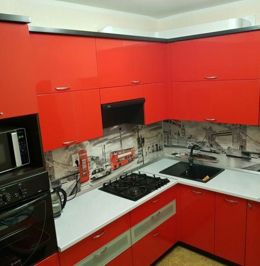 -Кухня из пластика «Модель 138»-фото19