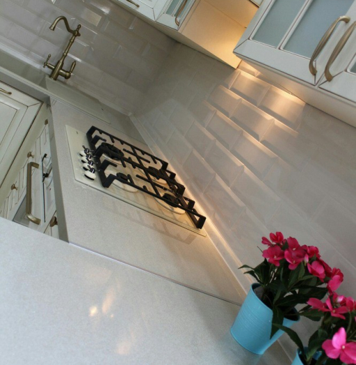 Встроенная кухня-Кухня МДФ в ПВХ «Модель 154»-фото8