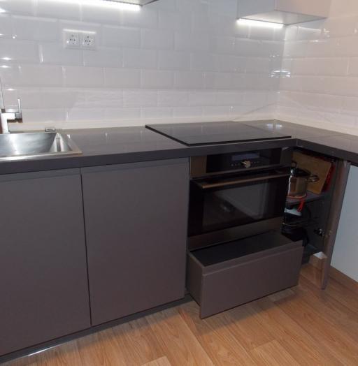 -Кухня МДФ в эмали «Модель 182»-фото25