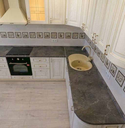 -Кухня из шпона «Модель 562»-фото28